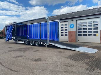 SDC, Gaffeltruck / lift  trailer